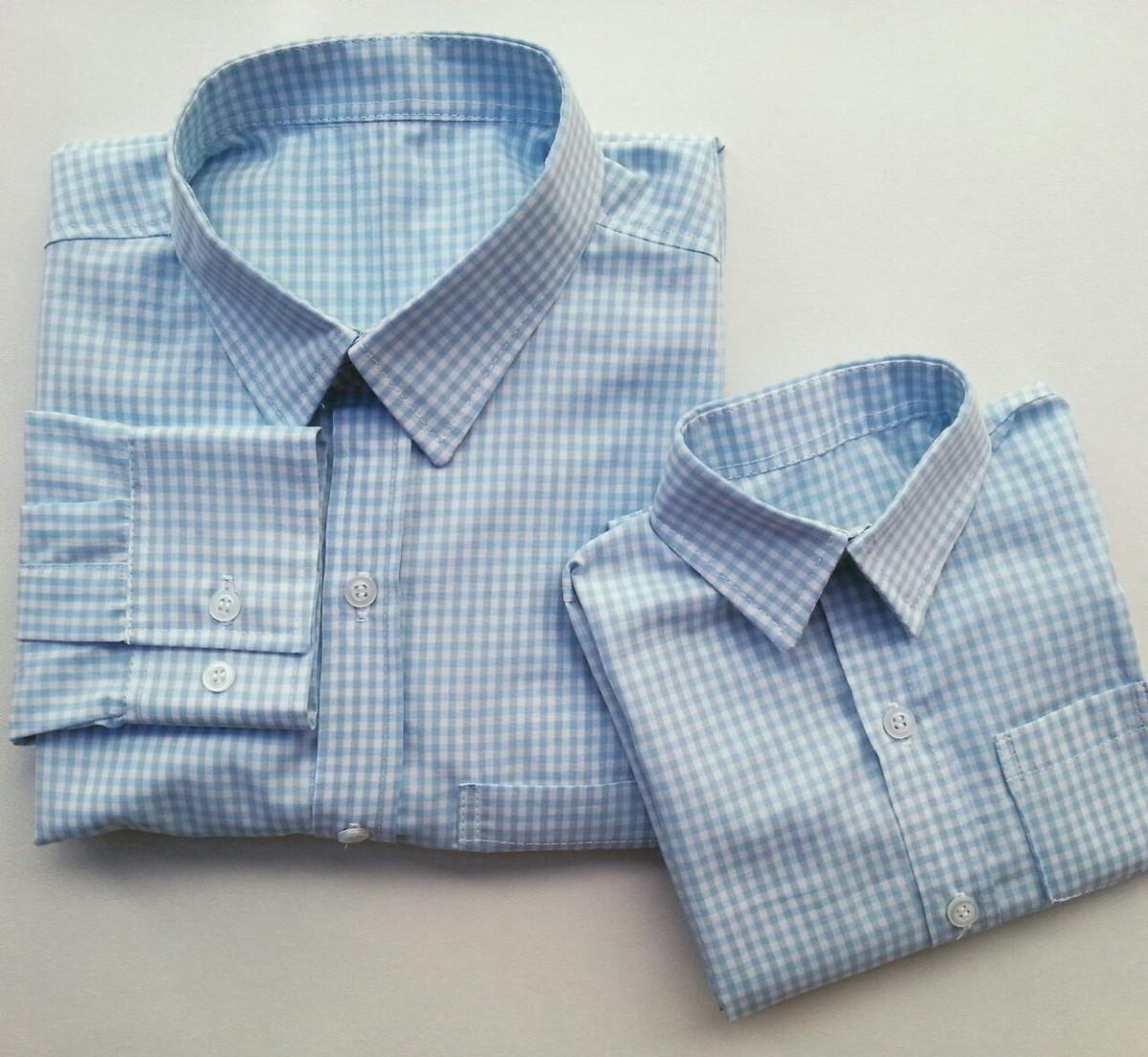 Kit camisa tal pai tal filho manga longa no Elo7  66d4603b2c8f0