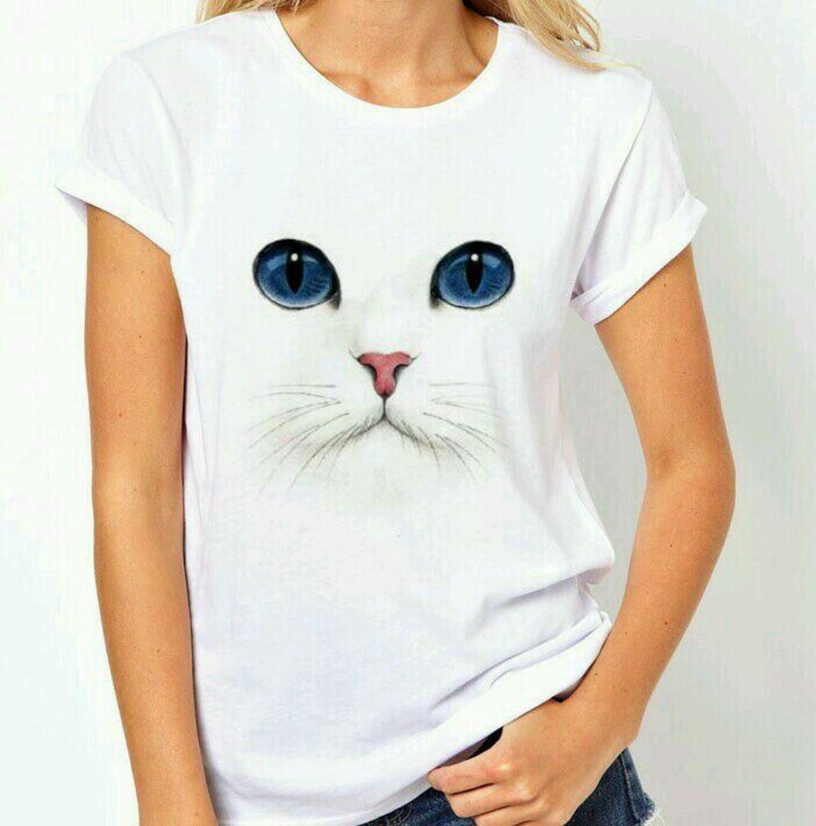 b28299e89f6 Camiseta feminina estilosa no Elo7
