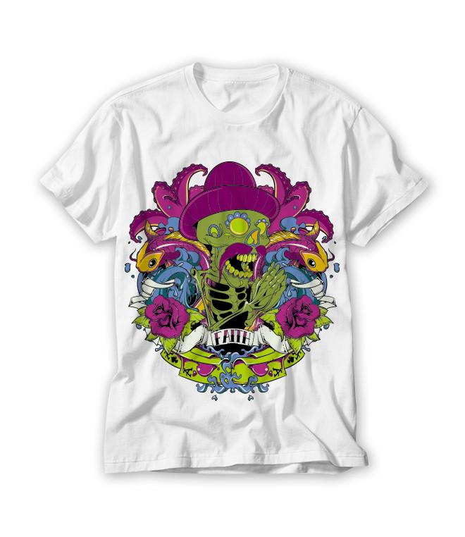 ec0f73e30 Camiseta Caveira Mexicana no Elo7