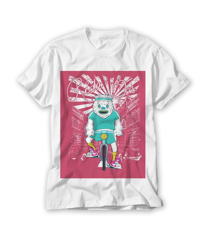 7222b4ea05 Camiseta Divertida Ride On no Elo7