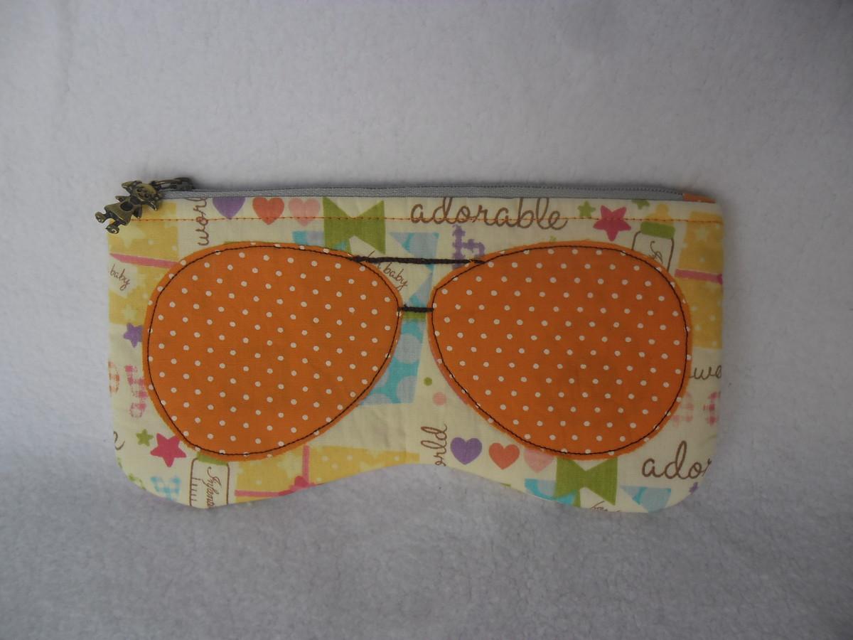 Porta óculos no Elo7   Arte Natural Artesanato (980340) ac74b1f857