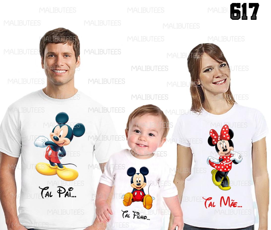 1c699b6e8d09 kit camisetas aniversario familia mickey no Elo7   MALIBU TEES (980CCD)