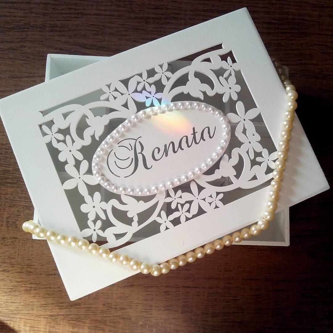 Caixa porta joias personalizado seu nome no elo7 lili - Black friday porta di roma ...
