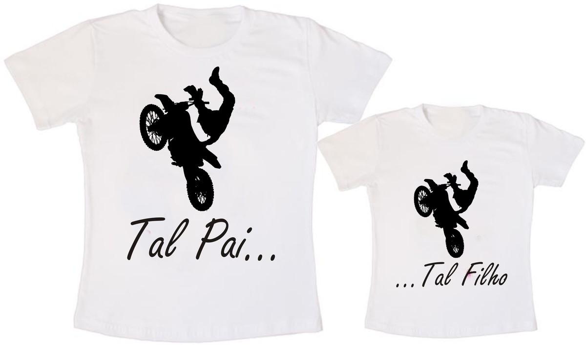 a8e0705a264270 Camisetas Tal Pai Tal Filho Moto Cross