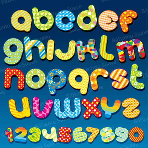 Alphabet Letter Designs Art: Kit Scrap Digital / Festa Junina Letras No Elo7