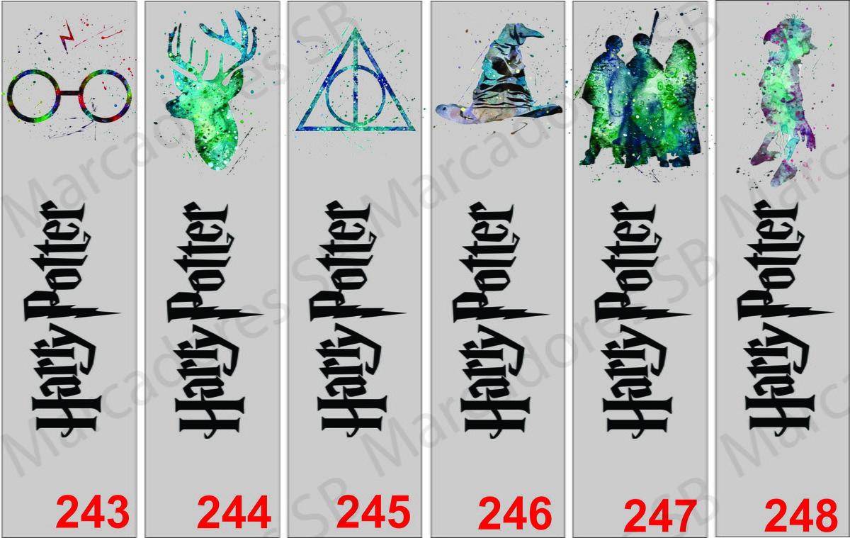 Marcadores De Pagina Harry Potter No Elo7 Sb Artes 98db37