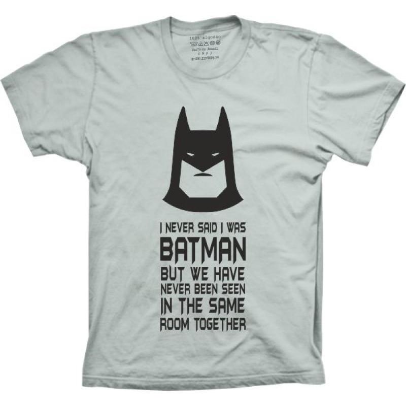 Camiseta Batman! no Elo7  ed8e057fe7c14