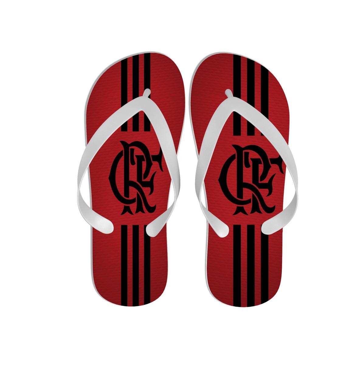 73f7e948c6 Chinelo Personalizado Flamengo no Elo7