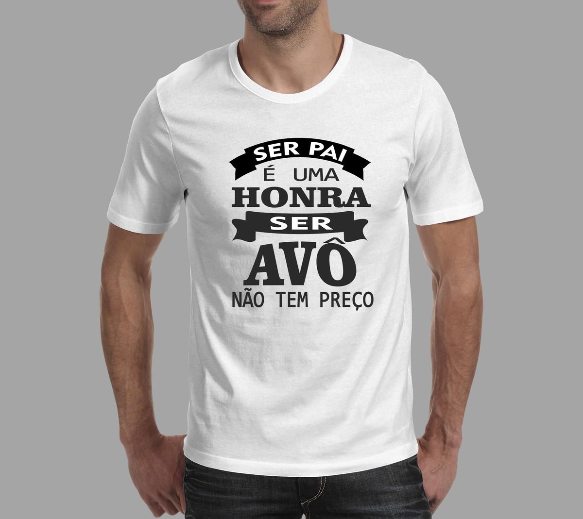 4df1bad2ad Camisa personalizada dia do avô no Elo7