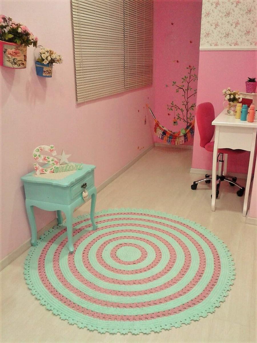 tapete redondo no elo7 marcia sartori 99238e. Black Bedroom Furniture Sets. Home Design Ideas
