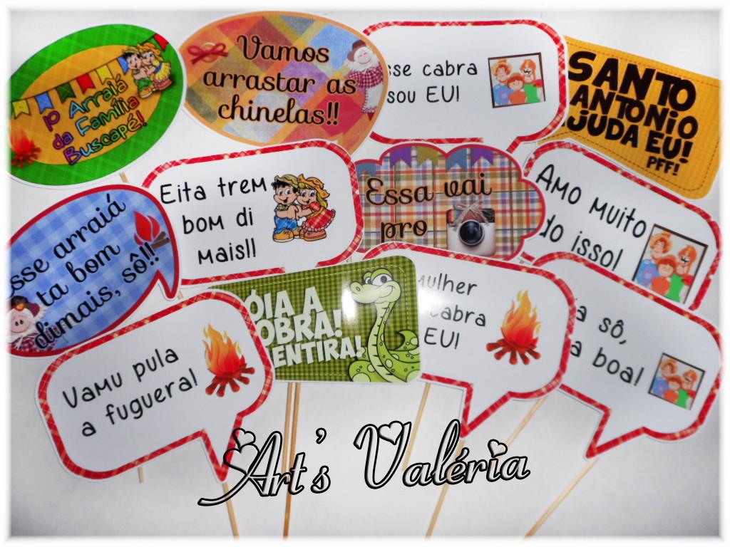 Placa Divertida Para Festa Junina Cada No Elo7 Arts Valeria