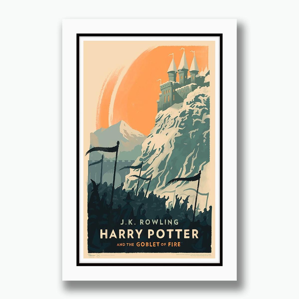 Quadro Harry Potter Filme Fv Minimalista No Elo7 Gynposters 994aed