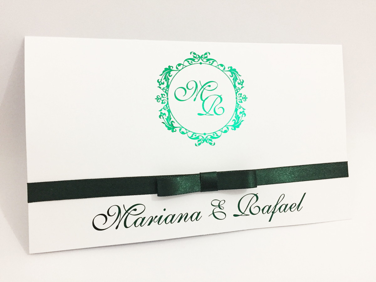 Convite De Casamento Hot Stamping No Elo7 Realizze 994e92