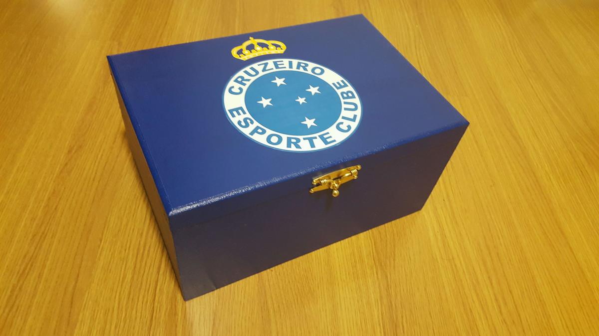 29a686a402d Caixa para óculos e relógio do Cruzeiro no Elo7