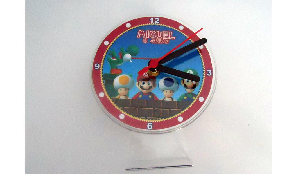 403c88005f8 Relógio Mario Bross no Elo7