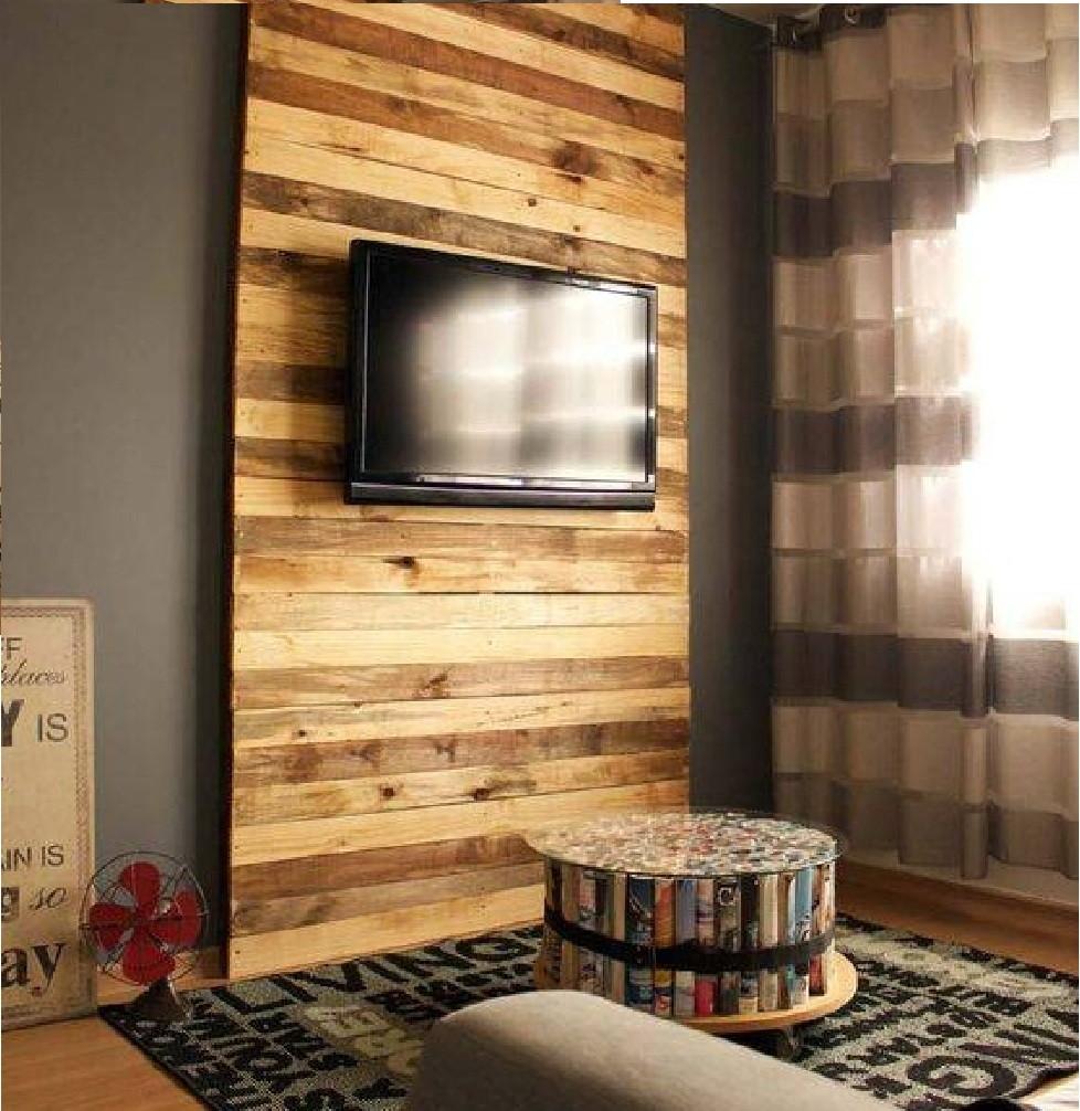 Painel De Tv Inteiri O No Elo7 Brasign Pallets 99c784  -> Foto Painel Para Tv