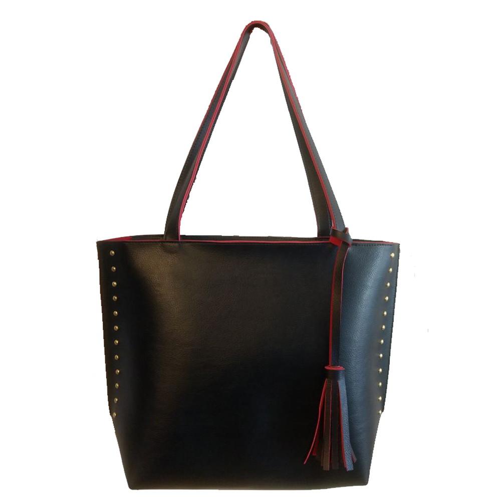 Bolsa De Ombro Rosa Vermelha   Kipling : Bolsa feminina sacola grande preta e vermelha promo??o