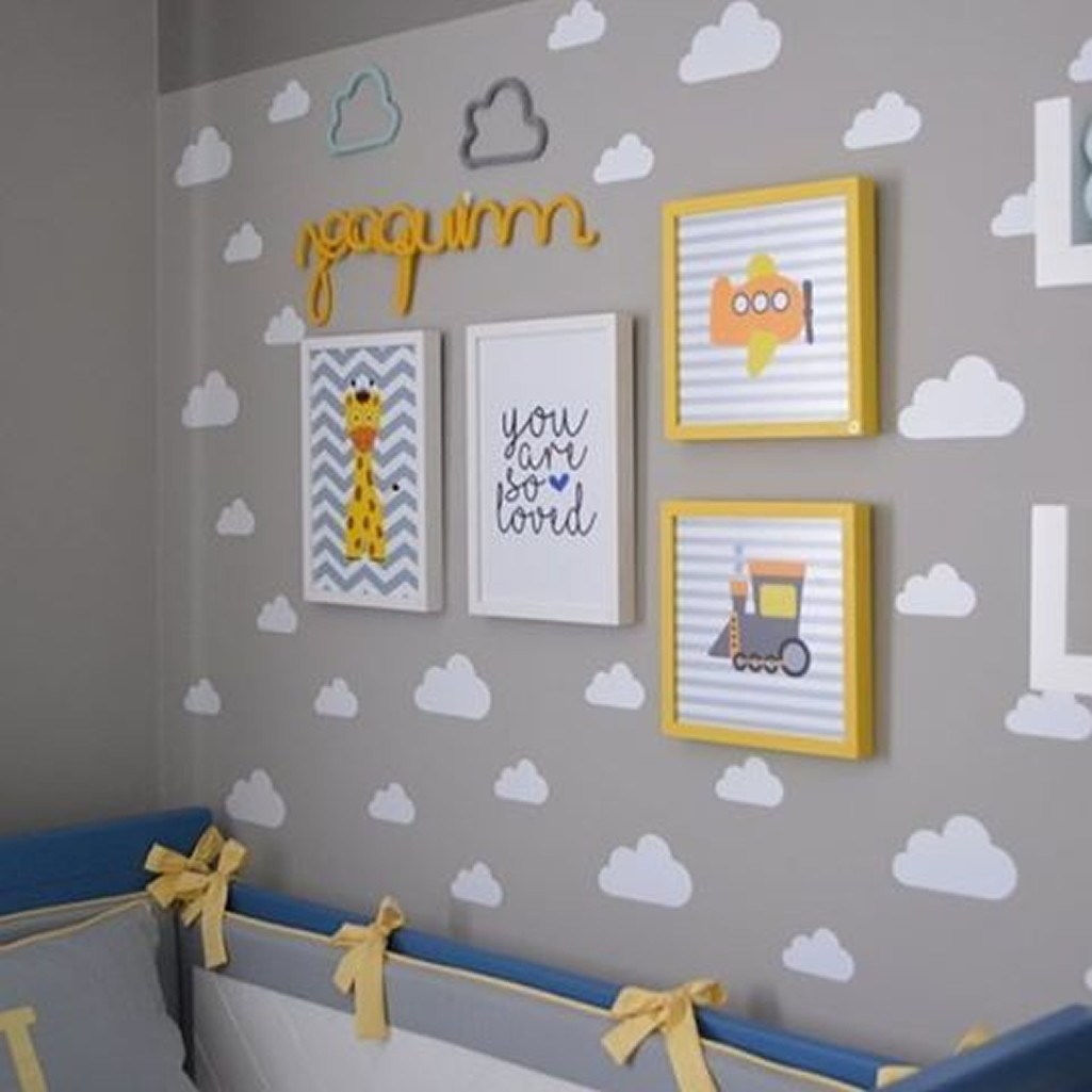 Artesanato Infantil Passo A Passo ~ Adesivo de Parede Nuvem no Elo7 Ideiative Design Criativo (971AF8)