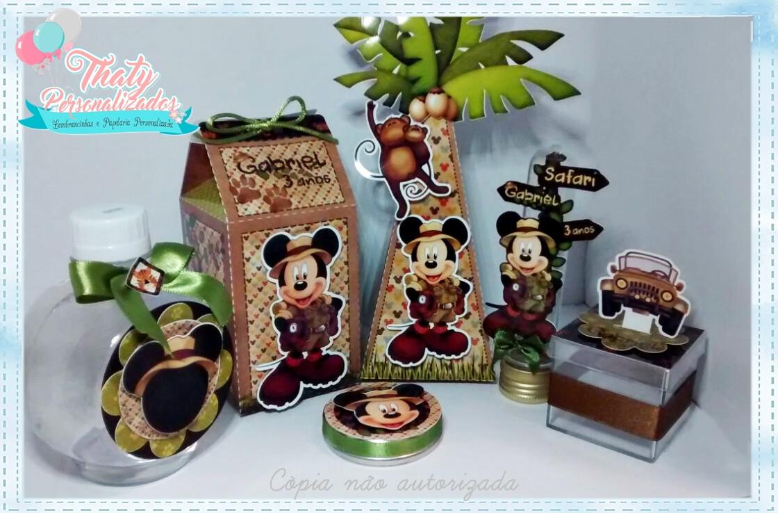 Saco para Lembrancinha Mickey Safari | Lembrancinhas mickey safari, Lembrancinha  mickey e Mickey safari