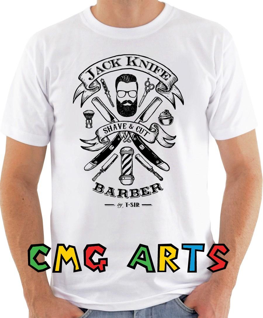 7e4b5fb212 Camisetas barbearia no Elo7