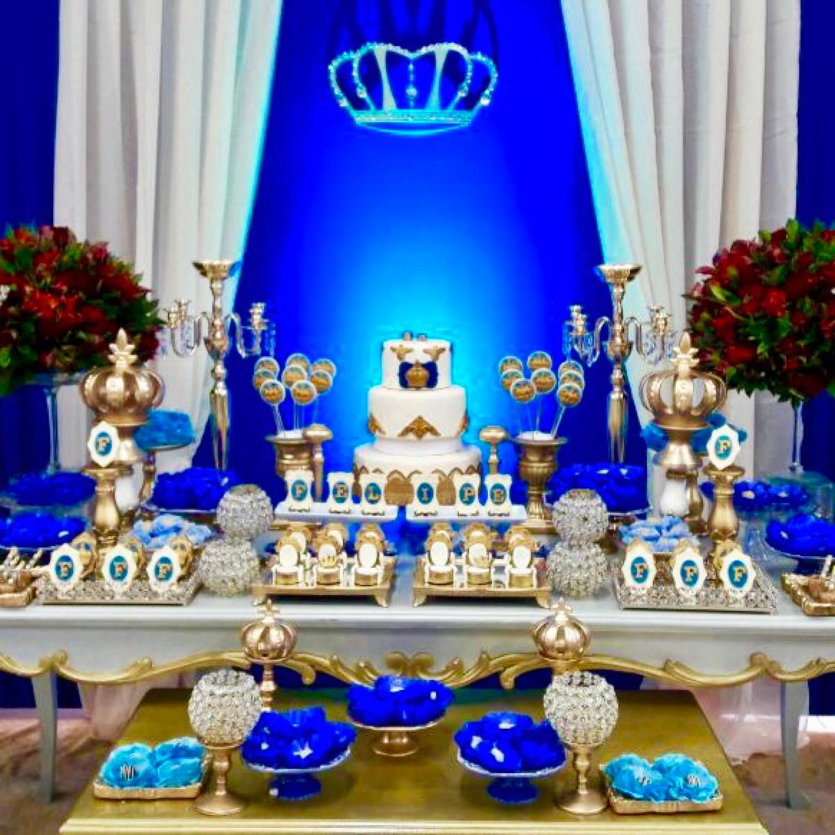 Festa Príncipe Realeza p Locaç u00e3o no Elo7 L M Decora Festas (9B6B6E) -> Decoração De Festa Infantil Realeza Luxo