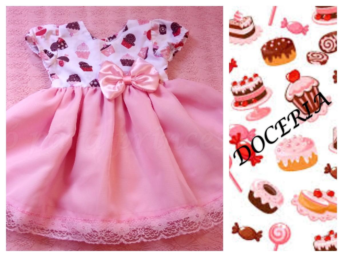 b7f3f3027 vestido cupcake confeitaria no Elo7