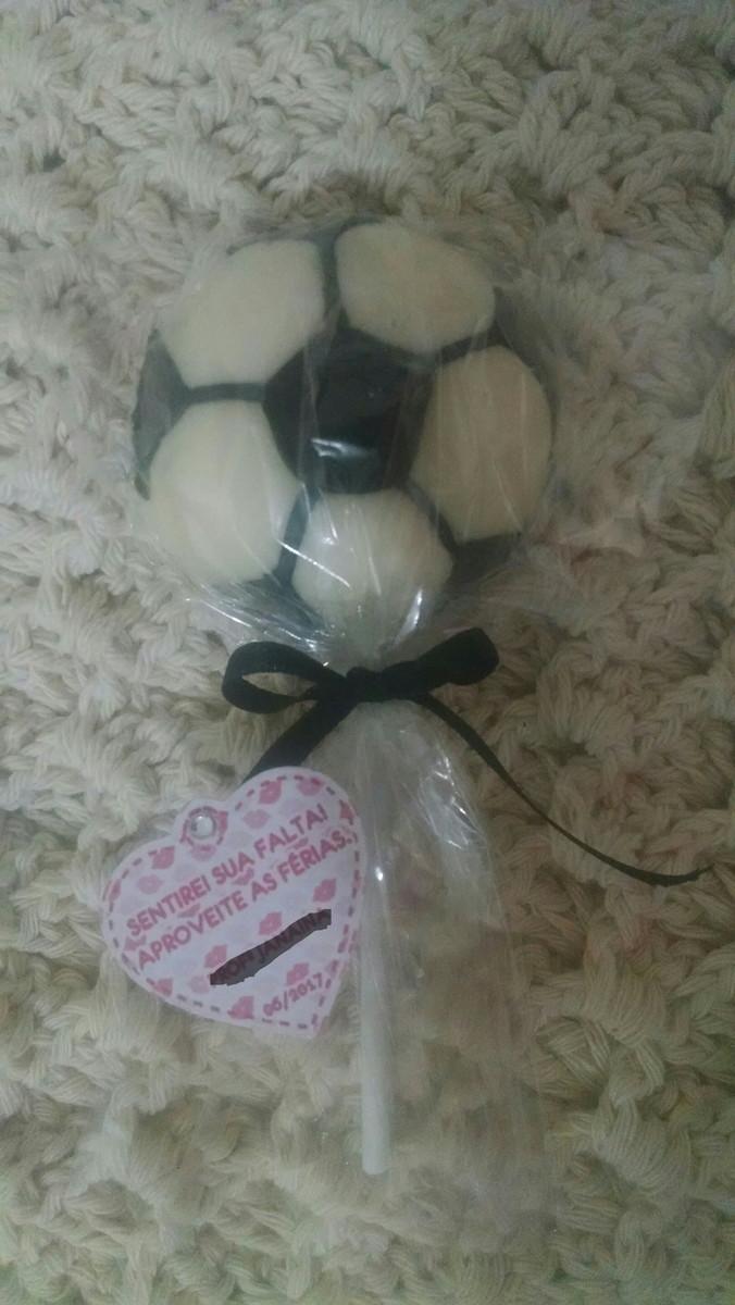 36268fa9a2 Pirulito Chocolate bola de futebol no Elo7
