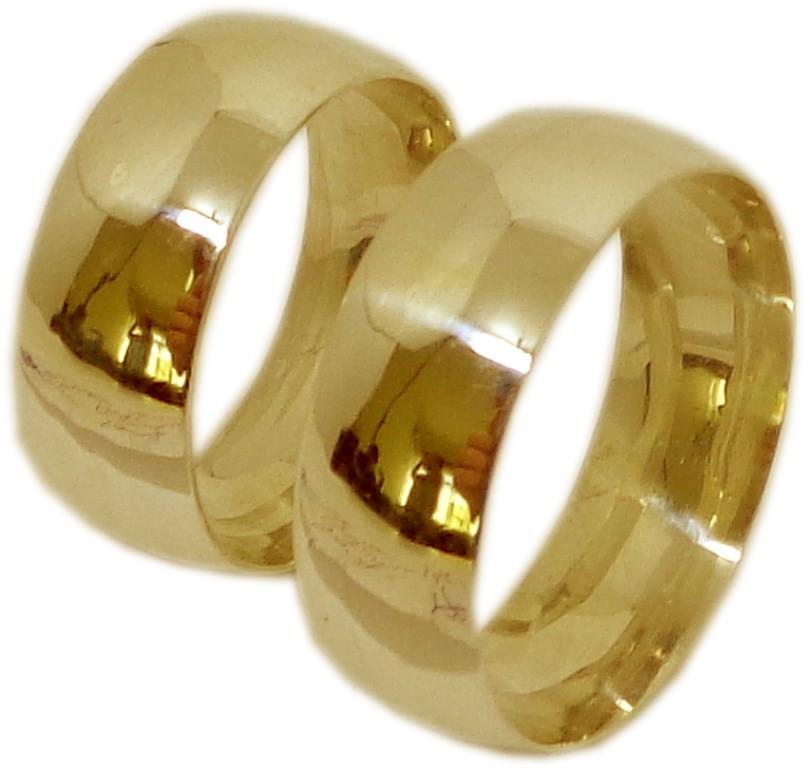 b06f189c33b6f Alianças ouro 18 k anatômicas 8,5 mm 20g no Elo7   DSR Jóias (9BD23E)