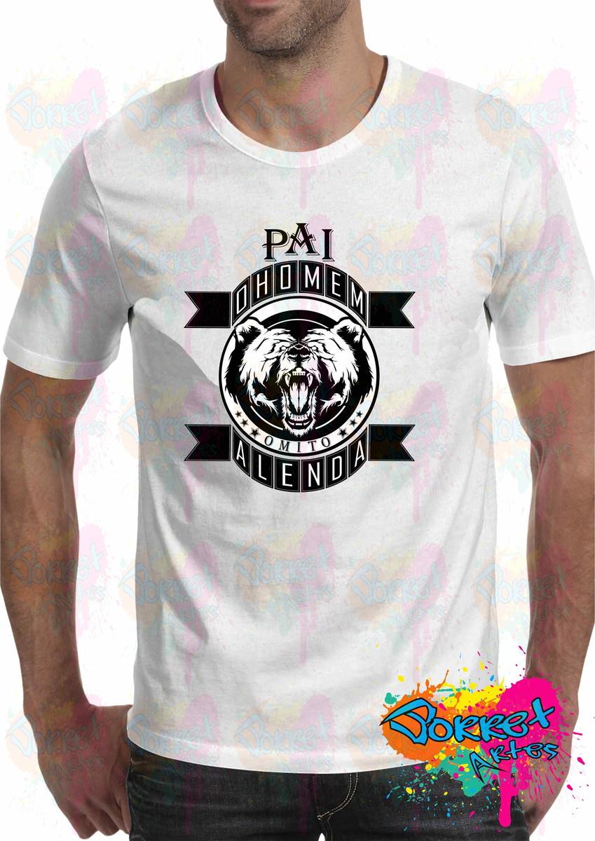 Camisa O Homem a Lenda Dia dos Pais Pai no Elo7  8e6e5c3314b