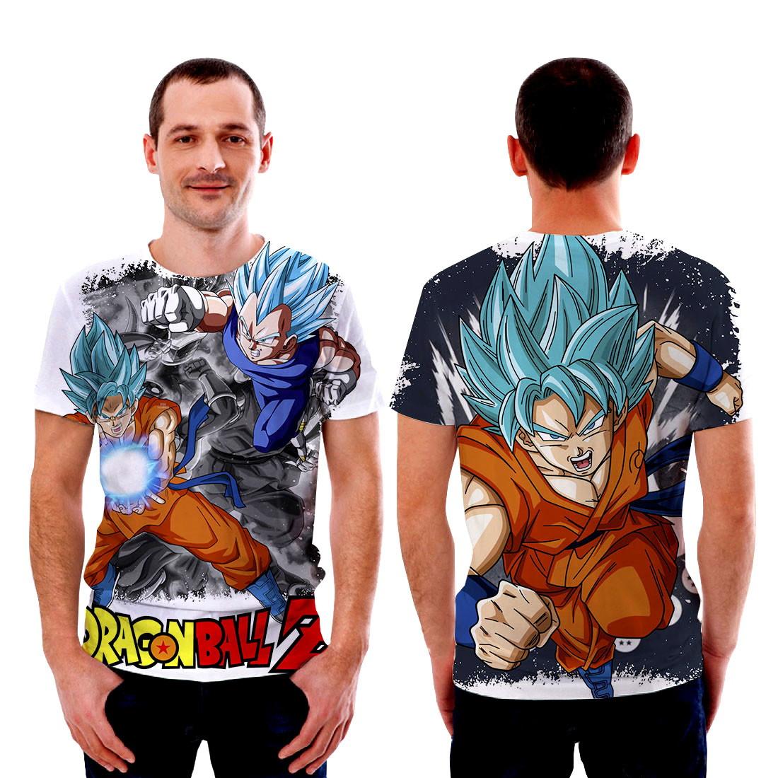 3e76febdd Camisetas Camisa Goku Dragon ball Z no Elo7