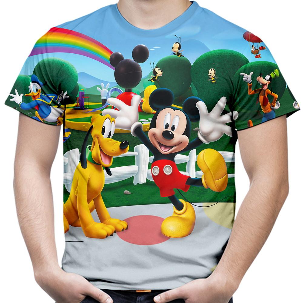 1fb3b91f2d Camiseta Masculina Turma do Mickey Mouse no Elo7