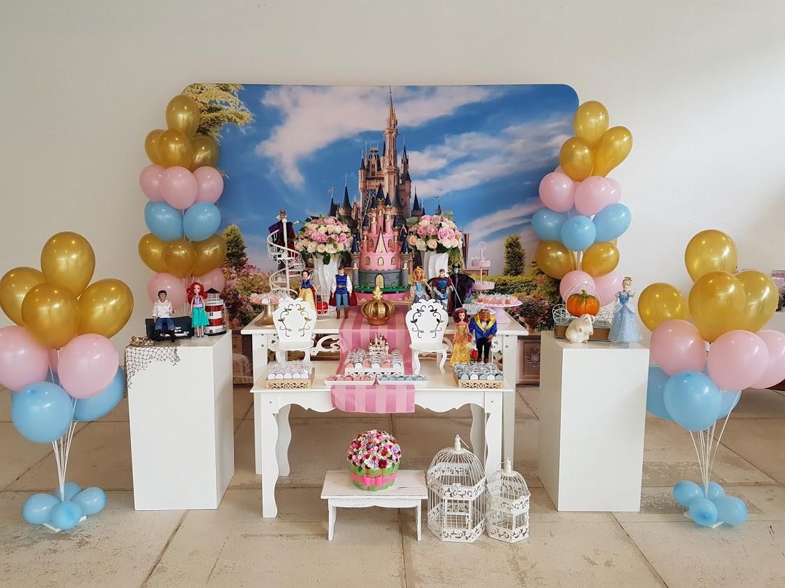 Aluguel Decoraç u00e3o Princesas da Disney no Elo7 Convites e Festas (8F5798) -> Decoração De Festa Das Princesas Da Disney