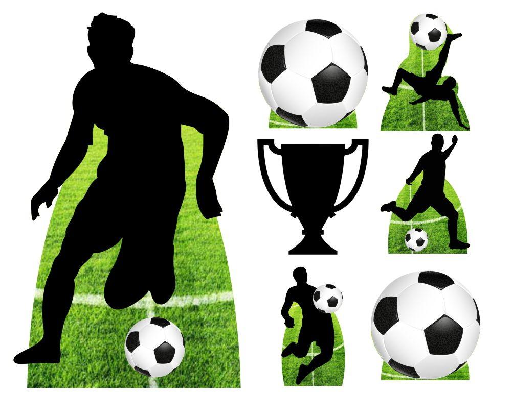 568e93a98 Kit 7 Totem Display Festa Futebol Bola 65cm no Elo7 ...