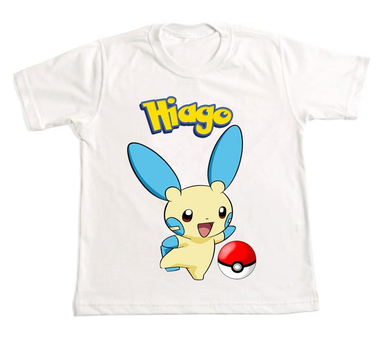 b2e61a5f5a Camiseta Personalizada Pokemon 21 no Elo7