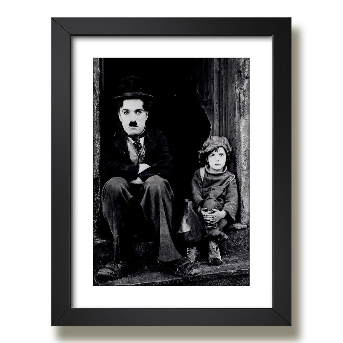 Quadro Charlie Chaplin Filme The Kid G5 No Elo7 Gynposters 9c17f1
