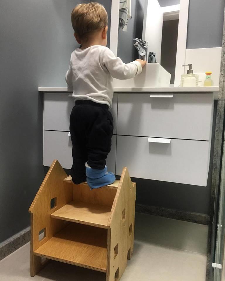Banco e escada casinha montessori no elo7 b brinqu for Montessori da ikea