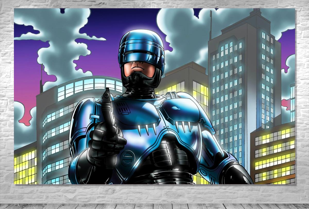 Painel Robocop Frete Gratis No Elo7 One Artes 9c6e65