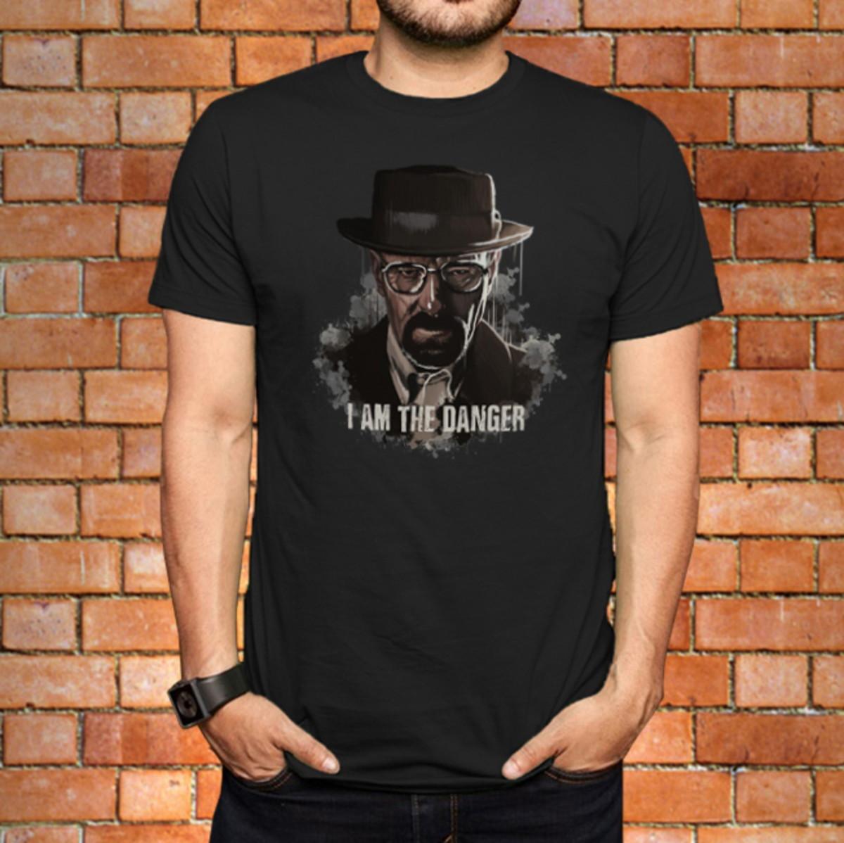 97572d8ec Camiseta Breaking Bad - I Am The Danger no Elo7