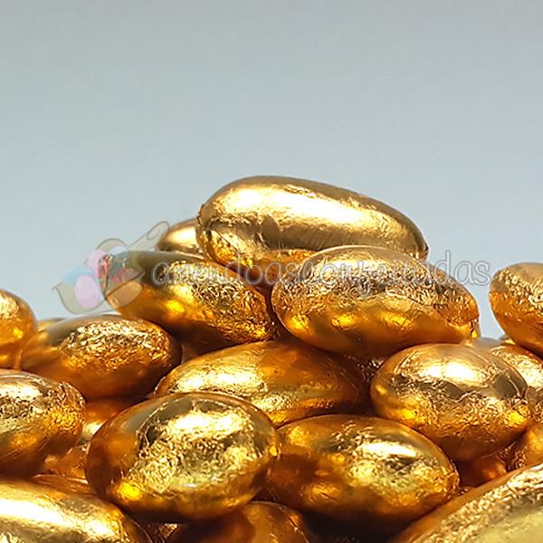 55c3b8f590d Amêndoas Confeitadas Dourada 50 unidades no Elo7