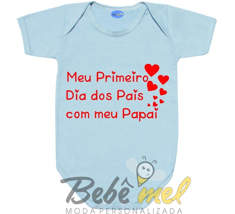 Body Frase Primeiro Dia Dos Pais No Elo7 Loja Bebê Mel 9ca2f7