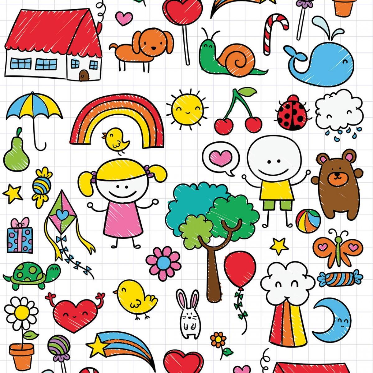 Papel De Parede Infantil Desenhos Kids Decoraplus Elo7