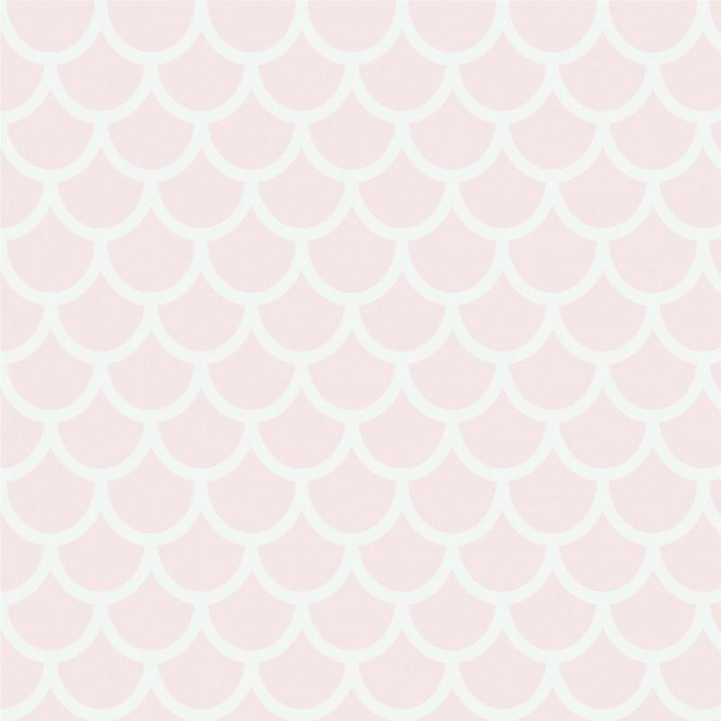 Papel de parede quarto menina rosa beb sete saba elo7 - Papel pared bebe ...