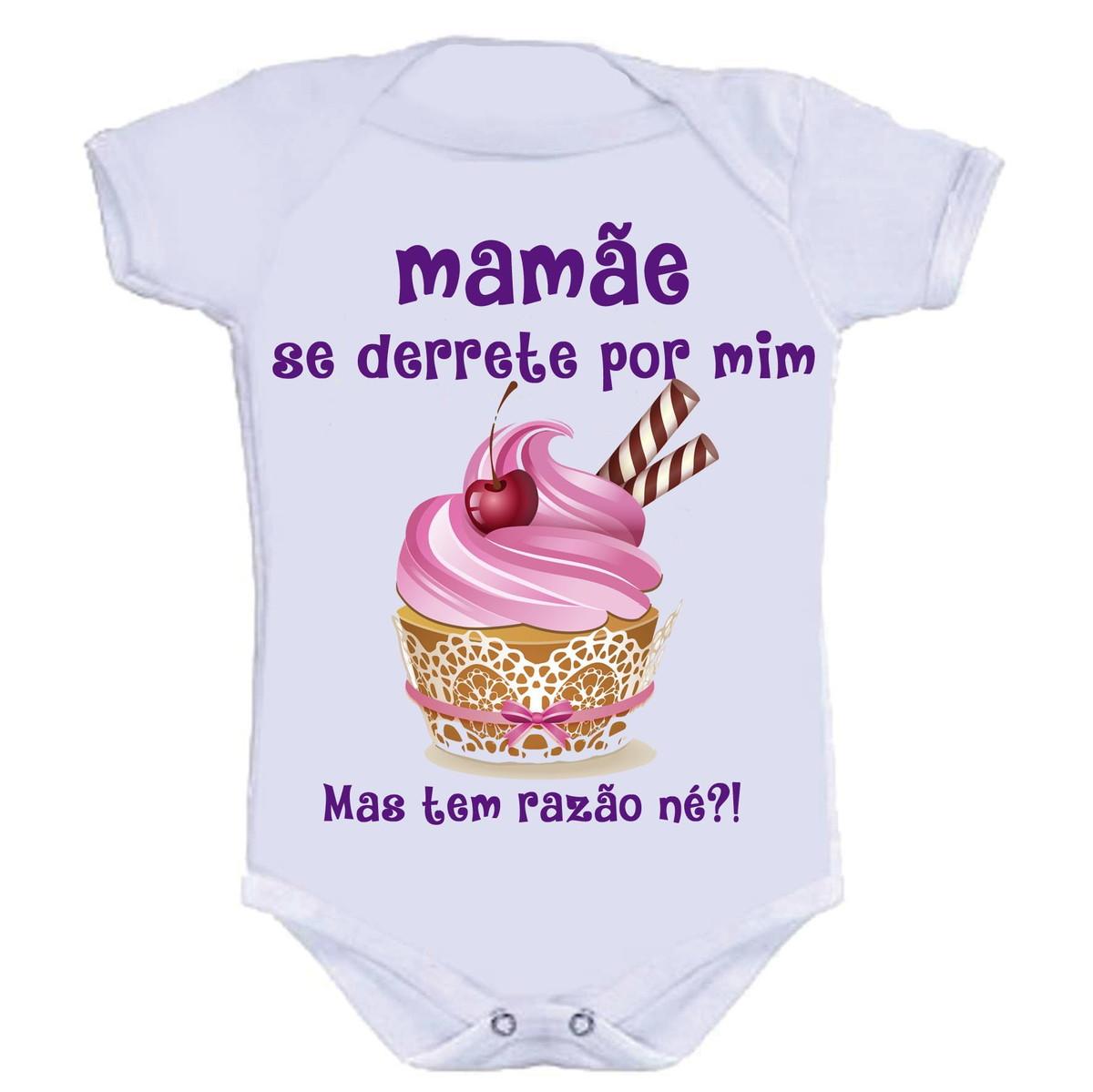 4afb3570d618 Body Divertido - Mamãe Se Derrete no Elo7 | KALUNDU KIDS (9CE0A4)