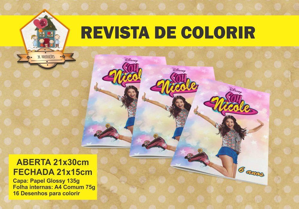 Revista Para Colorir Soy Luna No Elo7 Jk Producoes 9d5cf6