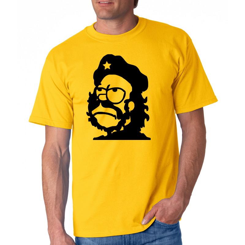 71502fb6a Camiseta Homer Simpson Che Guevara no Elo7