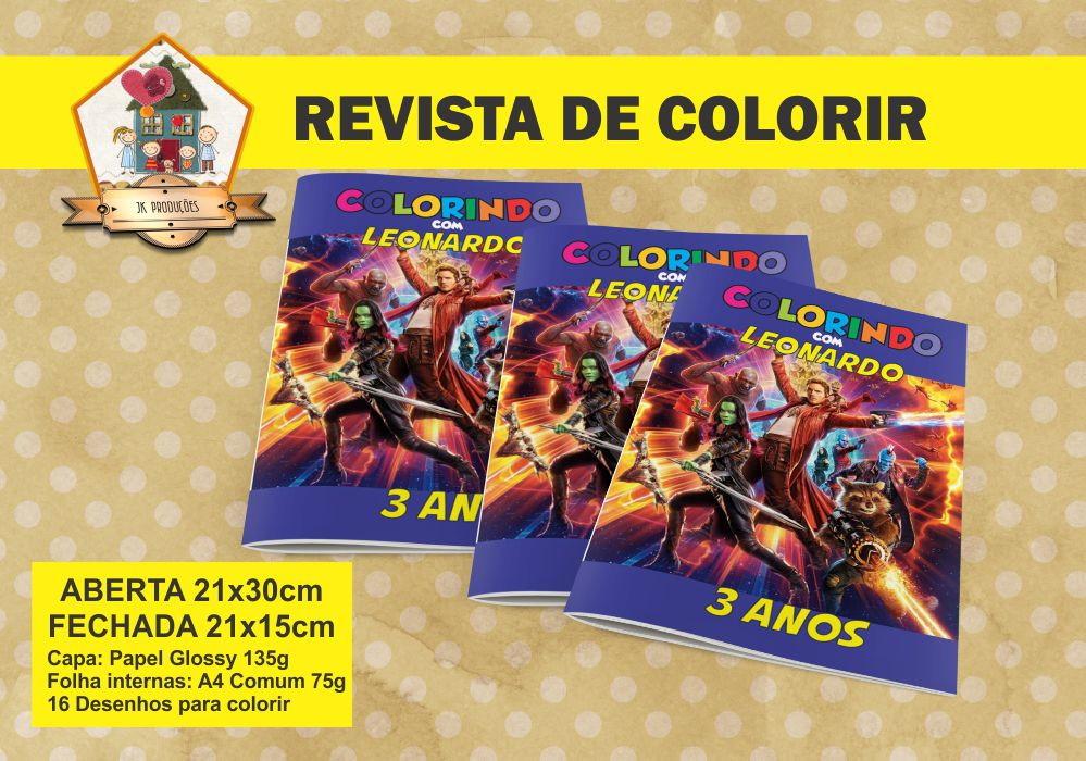 Revista Colorir Guardioes Da Galaxia No Elo7 Jk Producoes 9d96cd