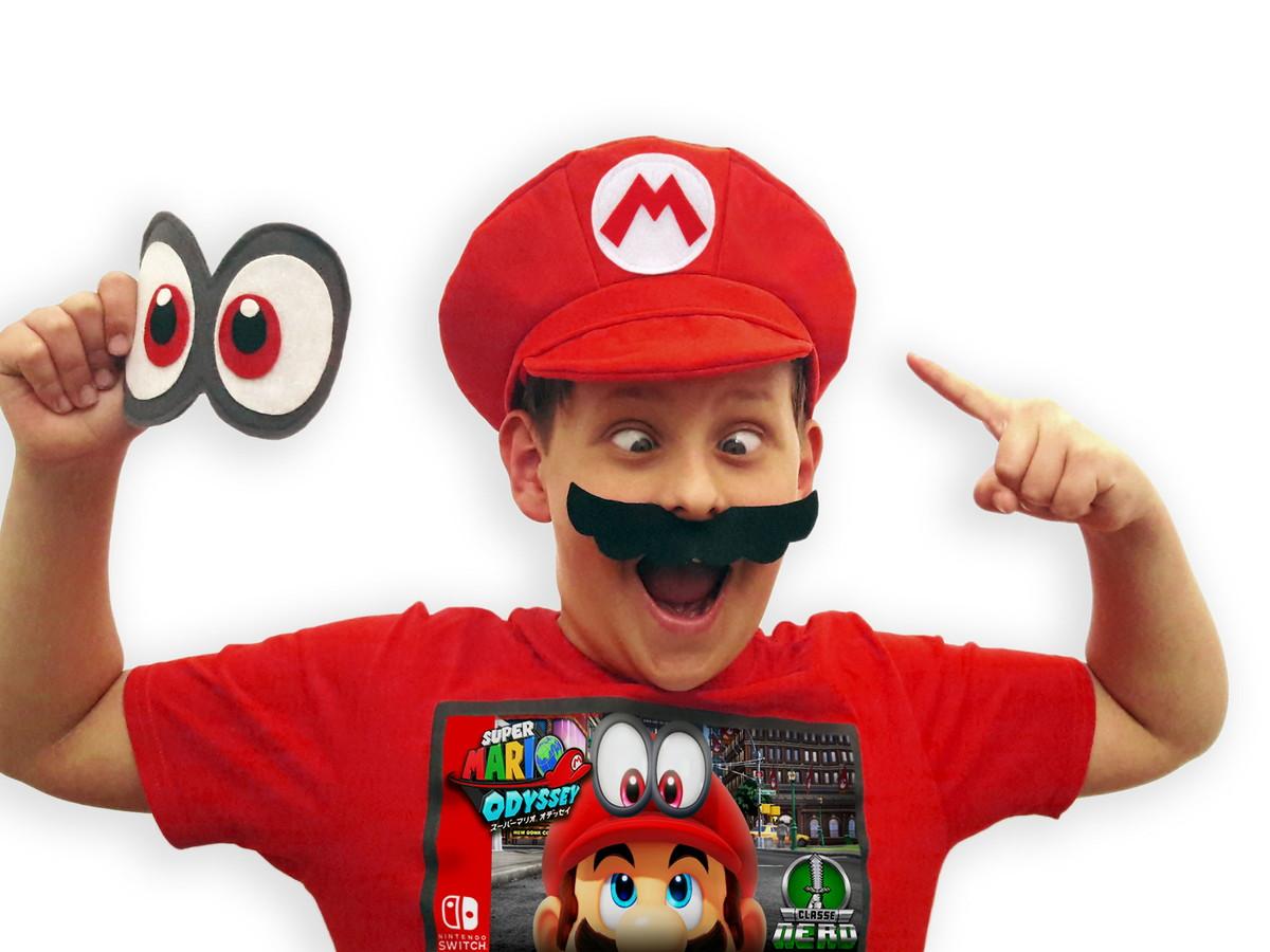4663b2561c588 Chapéu   Boina Super Mario Bros Odyssey Cappy Nintendo no Elo7 ...