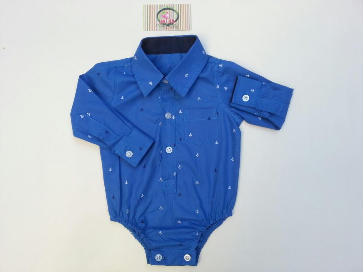 92adb80fb Body Camisa para Bebê no Elo7