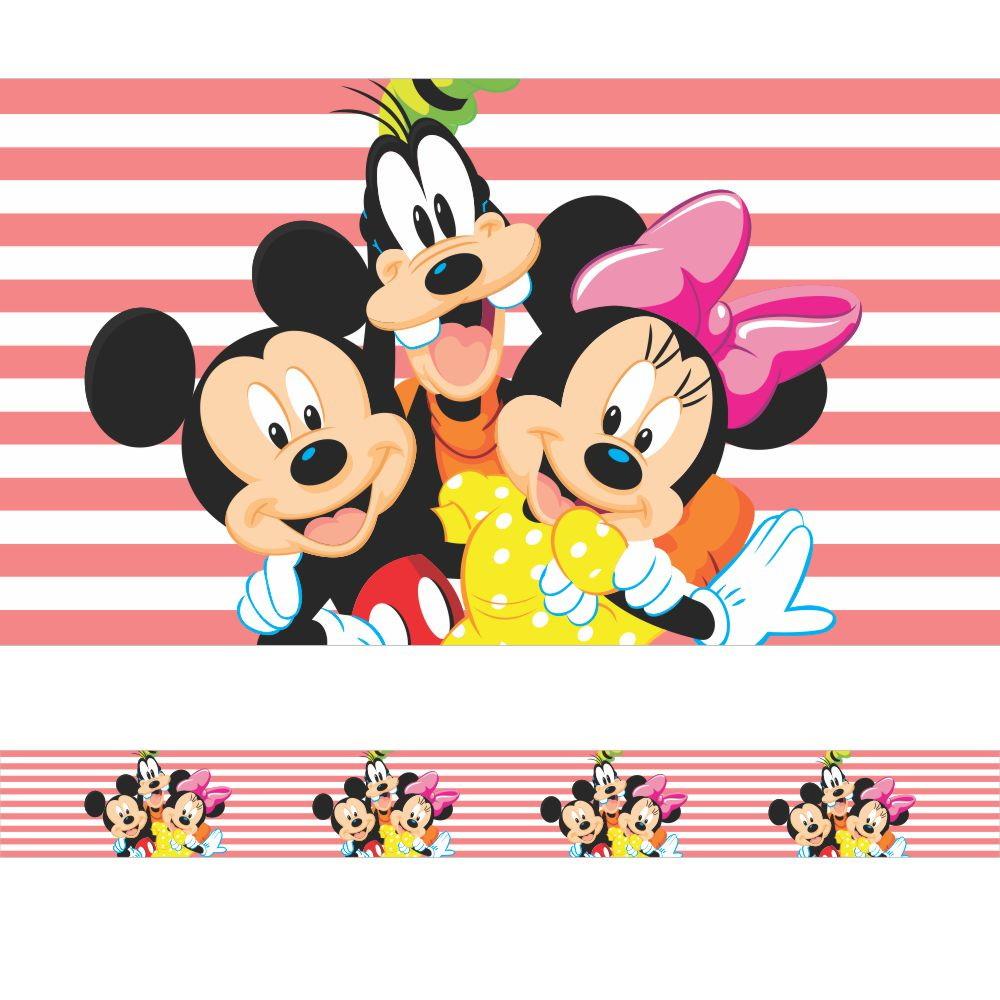 Faixa Border Mickey Minnie E Pateta No Elo7 Tilli Decor 9e16e3