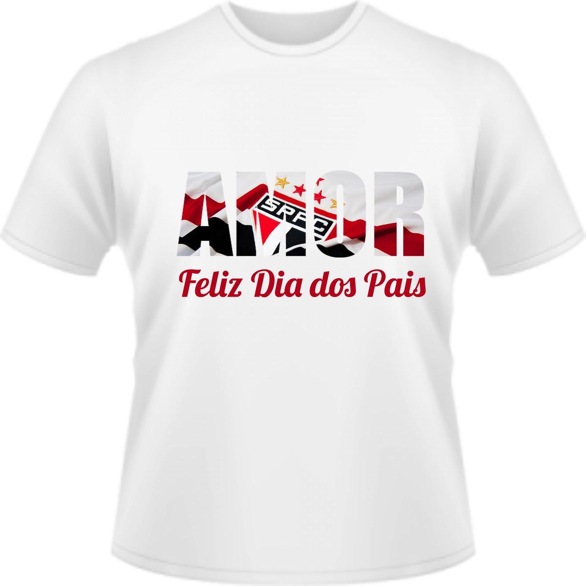 Camiseta Feliz dia dos Pais São Paulo no Elo7  ddb0619f6f23c